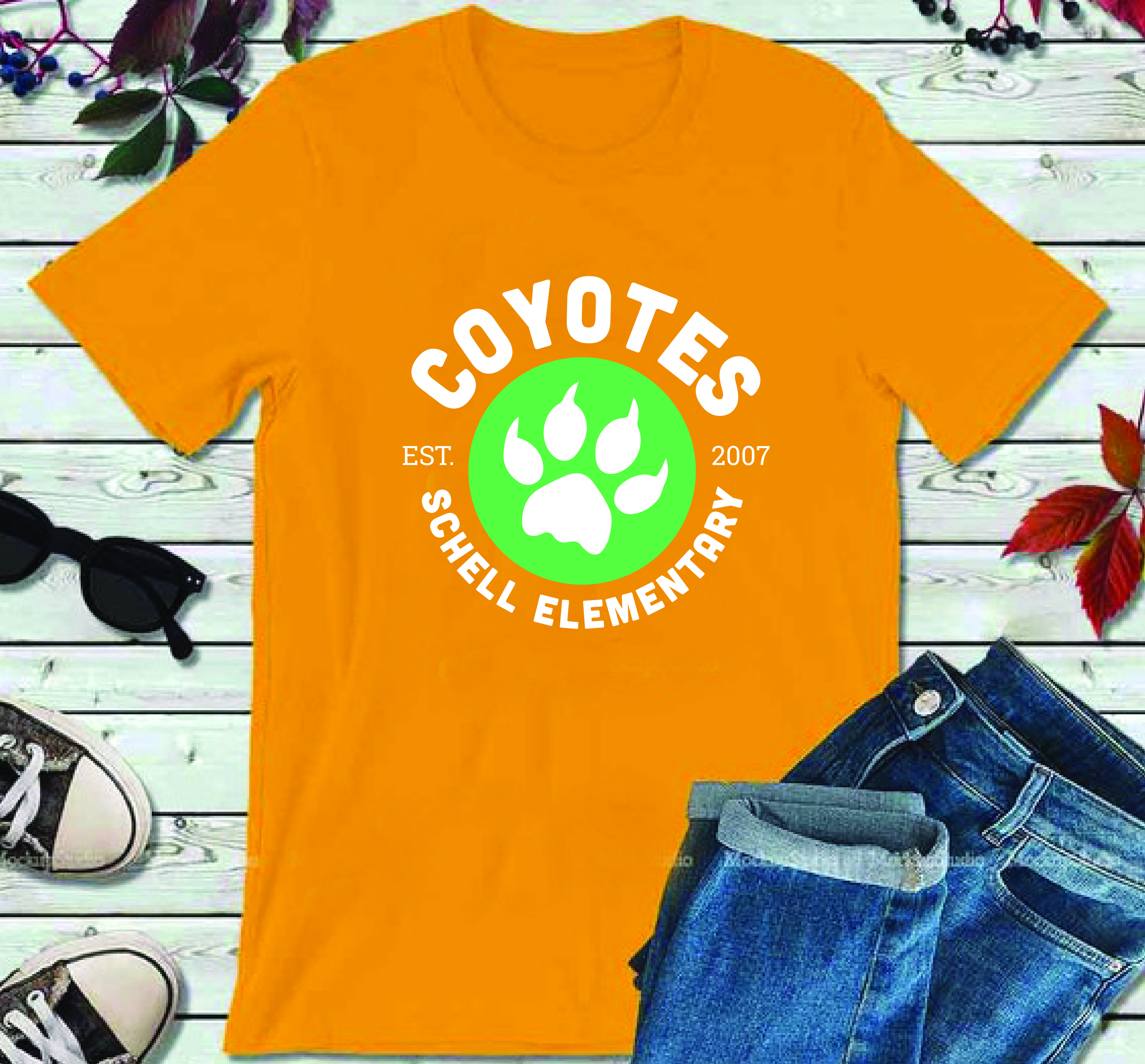 Pre-Order Gold Coyotes T-Shirt